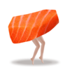 Sashimi Dash (刺身ダッシュ) - リトライ・タップ・アクションゲーム